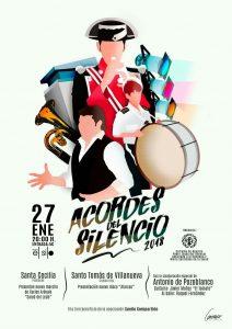 """ACORDES DEL SILENCIO @ Teatro """"El Silo"""" de Pozoblanco (Córdoba)"""