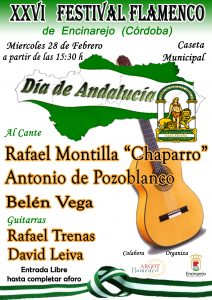 XXVI FESTIVAL FLAMENCO DE ENCINAREJO - CÓRDOBA - @ CASETA MUNICIPAL