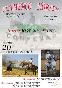 FLAMENCO HORSEN @ CARPA DE CONCURSOS - RECINTO FERIAL DE POZOBLANCO (CÓRDOBA)