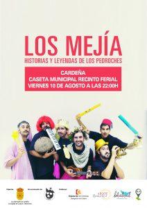 """HISTORIAS Y LEYENDAS DE LOS PEDROCHES """"LOS MEJÍA"""" @ CASETA MUNICIPAL DEL RECINTO FERIAL"""