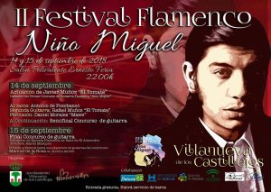 II Festival Flamenco Niño Miguel @ SALÓN POLIVALENTE ERNESTO FERIA