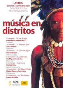 LATIDOS - MÚSICA EN DISTRITOS @ Centro Cívico Torre del Agua