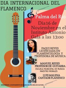DÍA INTERNACIONAL  DEL FLAMENCO @ INSTITUTO ANTONIO GALA