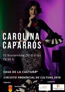 TARDE DE COPLA CON CAROLINA CAPARRÓS @ CASA DE LA CULTURA