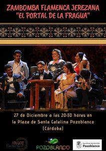 """Zambomba Flamenca Jerezana """"EL PORTAL DE LA FRAGUA"""" @ PLAZA DE SANTA CATALINA"""