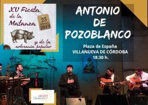 ACTUACIÓN DE FLAMENCO CON ANTONIO DE POZOBLANCO. @ PLAZA DE ESPAÑA