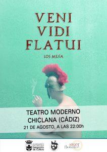 """""""VENI, VIDI, FLATUI"""" @ TEATRO MODERNO"""