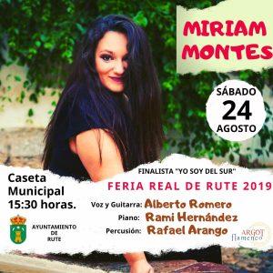 MIRIAM MONTES - FERIA REAL RUTE 2019 @ CASETA MUNICIPAL